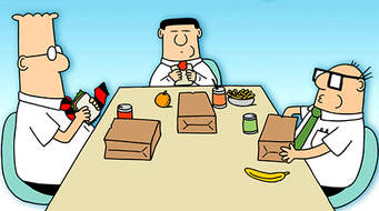 dilbert lunch
