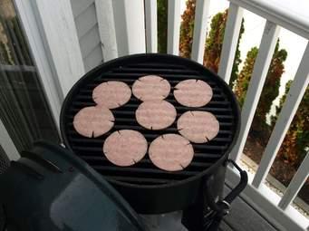 Pork roll grill